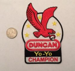 Duncan Yoyo champion patch