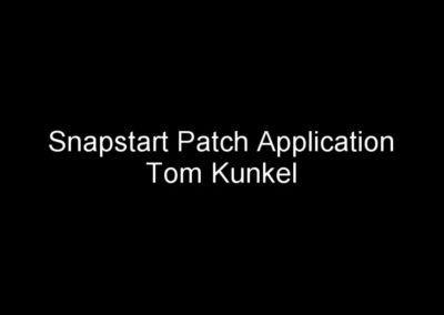 Snapstart video application by Tkunkel