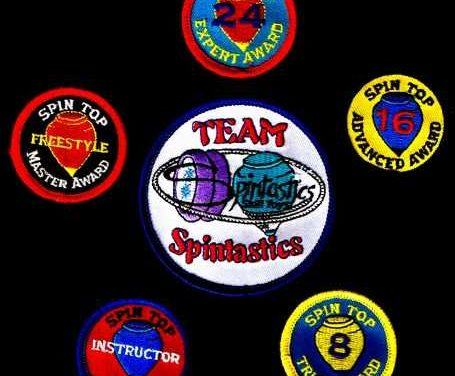 Spintastic's award patches