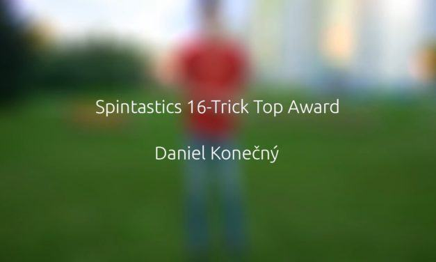 Spintastics 16-Trick Top Award – Daniel Konečný