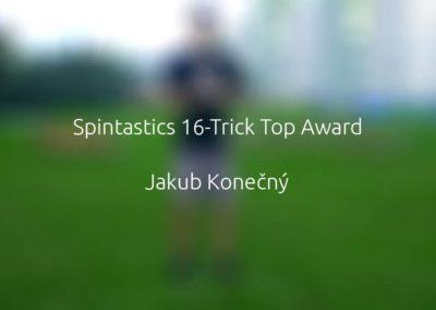 Spintastics 16-Trick Top Award – Jakub Konečný