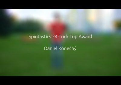 Spintastics 24-Trick Top Award – Daniel Konečný