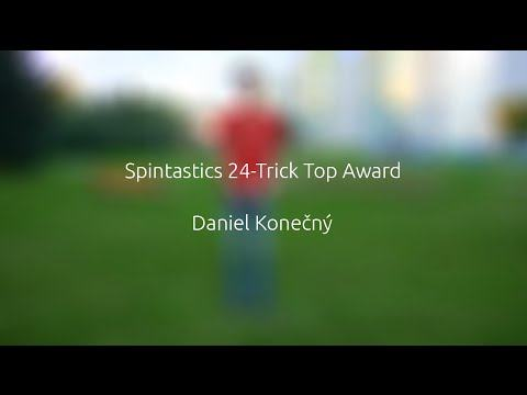 Spintastics 24-Trick Top Award – Daniel Konečný