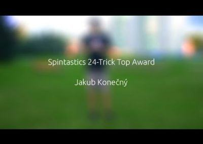 Spintastics 24-Trick Top Award – Jakub Konečný