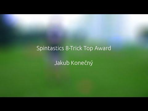 Spintastics 8-Trick Top Award – Jakub Konečný