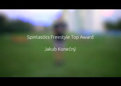Spintastics freestyle award patch video application by J. konecny