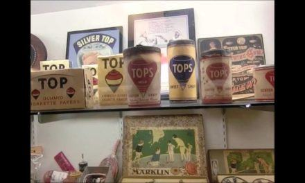Visit to a private spinning top museum