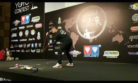 Farid Hernán Bermúdez Vega 5th at world's 2018