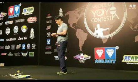 Robert Tsou 6th place at World 2018