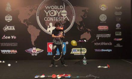 Takahiko Hasegawa 3rd place at world's 2018