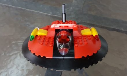 Technical LEGO: Space Ferrari project