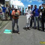 Spintop festival in Borotà, Venezuela.