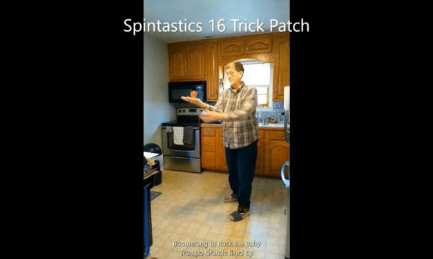 Spintastic's 16 tricks award patch by Renee