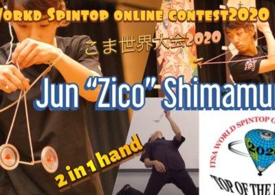 Jun Shimamura 島村純-こま世界大会 (Japan) OSWC 2020